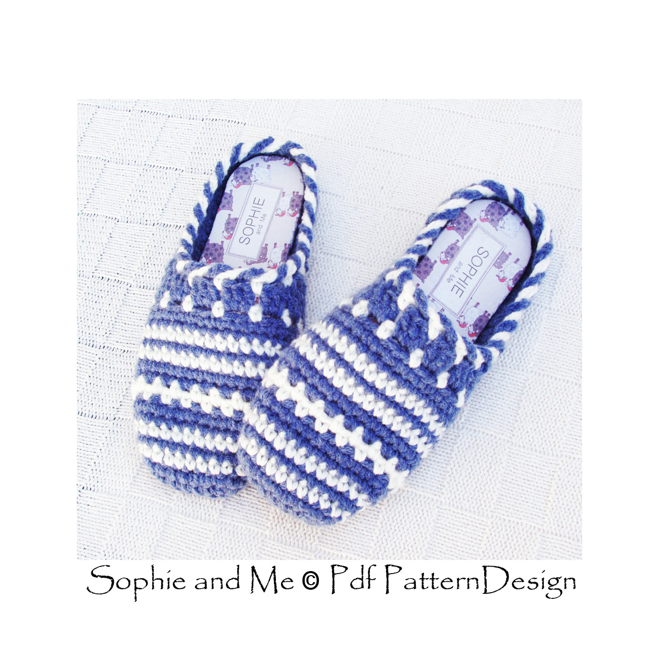 Sweater Clog Slip In Crochet Slippers