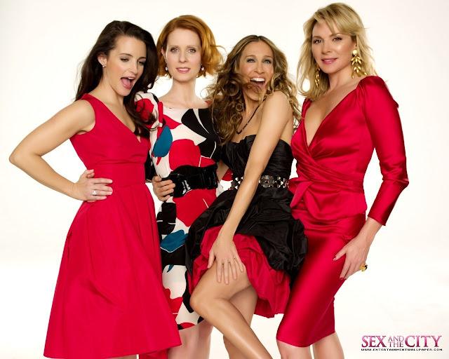 Sexo en Nueva York: Imágenes de las 4 Vestidas de Rojo.