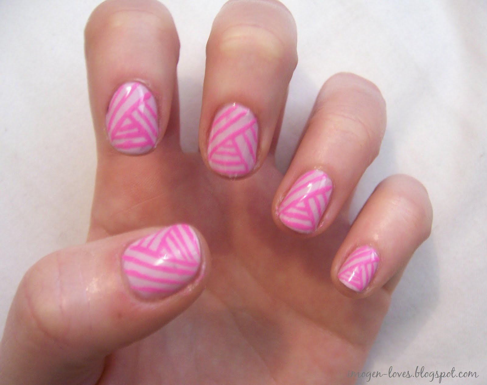 Stripe Nail Designs