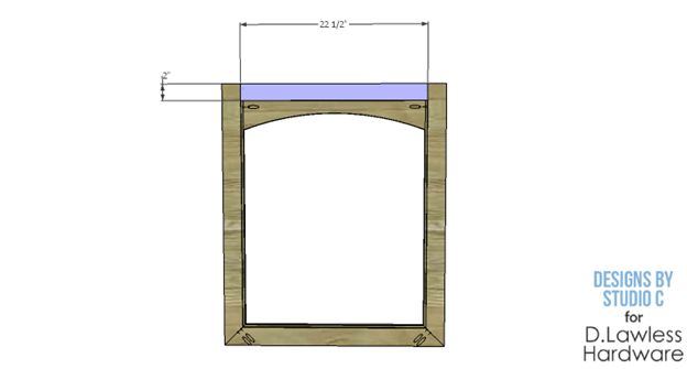 Mirror Frame Plan - finished prodcut