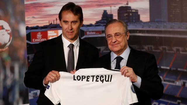 Lopetegui presented as new Real Madrid coach