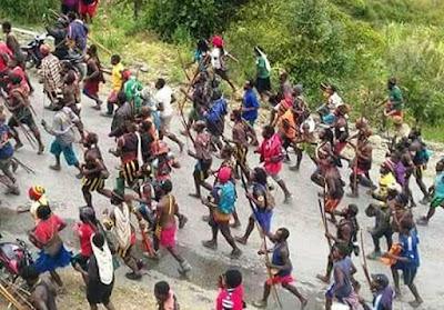Bentrokan Di Intan Jaya Papua, Diduga Ada Orang Istana yang Jadi Provokator