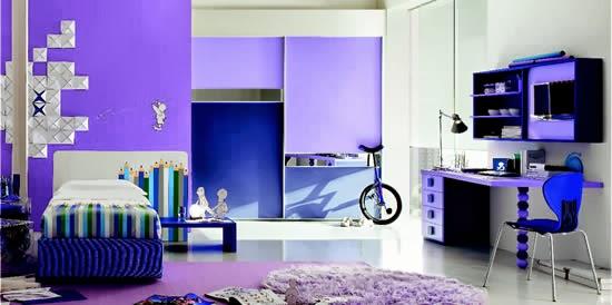 Dormitorio azul para jovencitos adolescentes dormitorios for Habitacion juvenil azul
