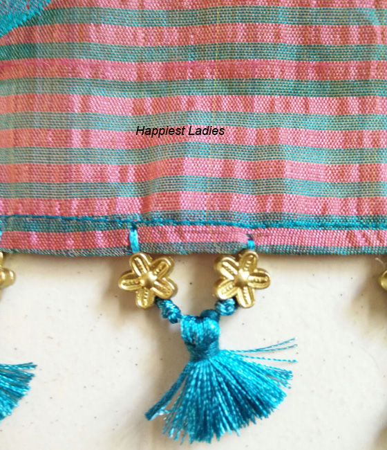 Saree Tassels – Hand work / DIY