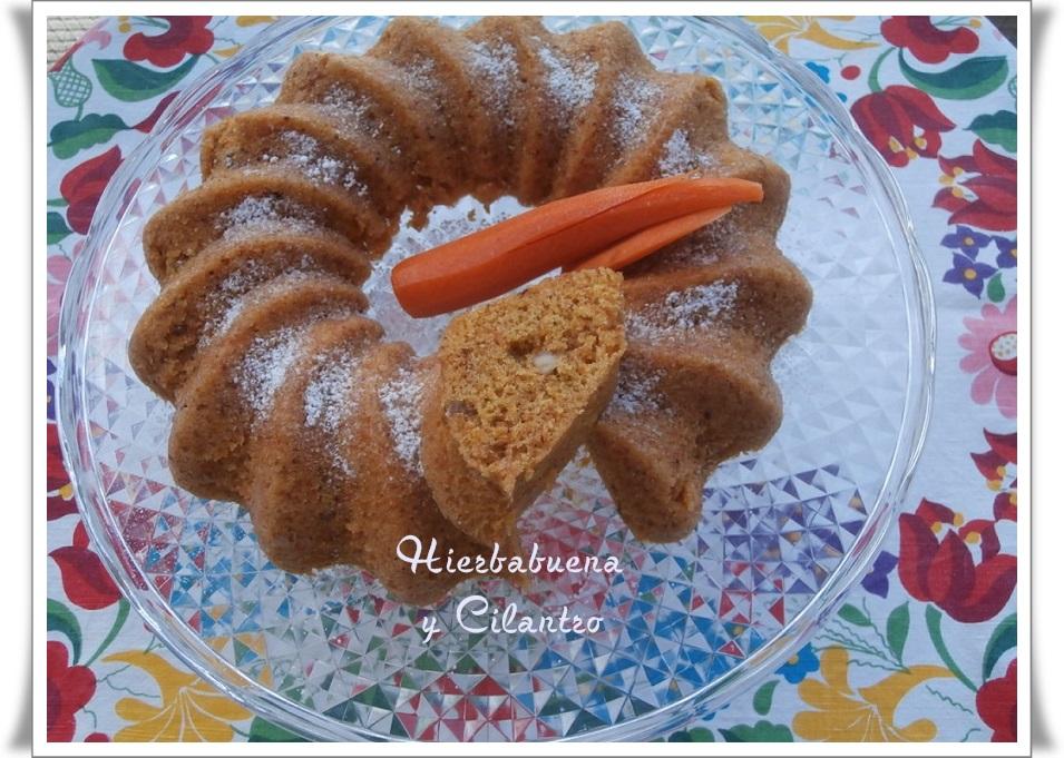 Hierbabuena y cilantro bizcocho de zanahoria con - Bizcocho con microondas ...