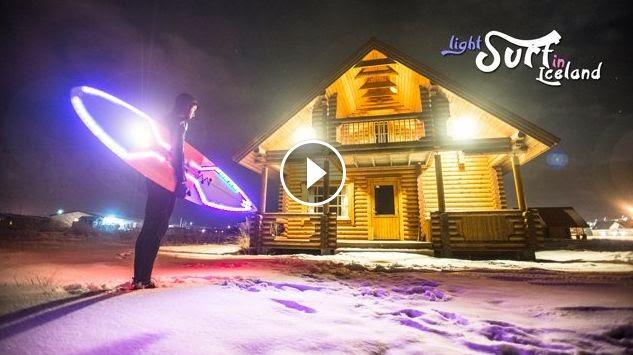 LIGHTSURF IN ICELAND