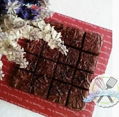 Resepi Brownies Versi Kedut