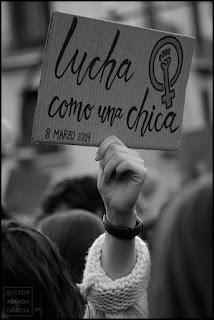 fotografia,cartel,8M,valencia,feminista