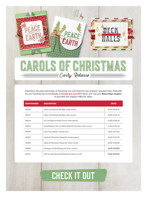 Carols of Christmas Early Release - get yours here