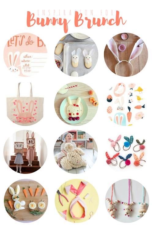 The most adorable inspiration for a girls' bunny-themed Easter brunch!