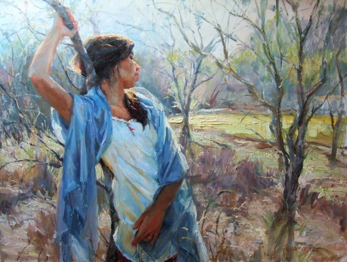 Художница и коллекционер. Gladys Roldan De Moras