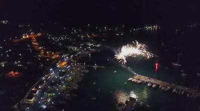 Ένα καταπληκτικό βίντεο με drone από τον εορτασμό της Αγίας Παρασκευής στην Πλαταριά Θεσπρωτίας