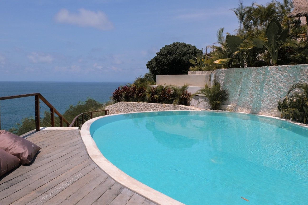 private pool at la joya ii biubiu bali