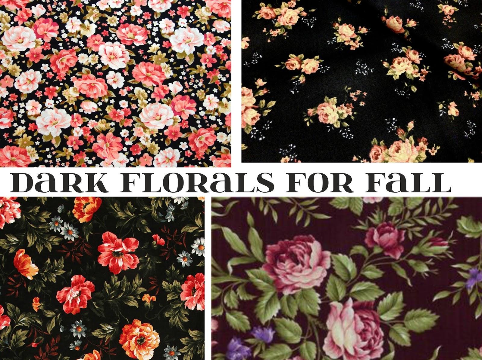 BLOB: Dark Florals for Mama + Mini