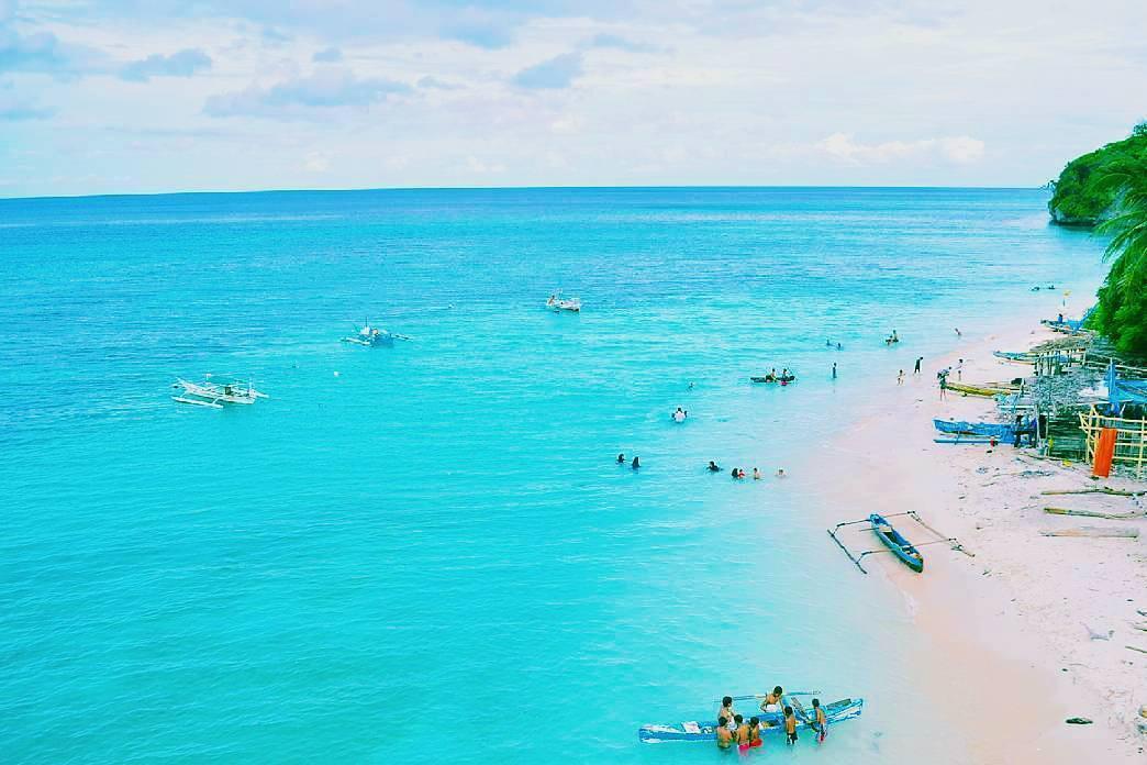 Marumasa, pasir pantai selembut tepung, Biru lautnya Memesona