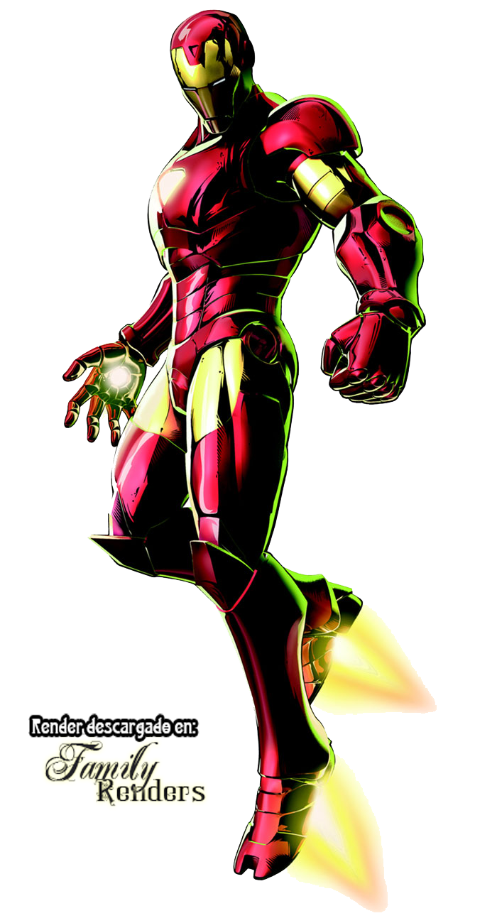 render iron man