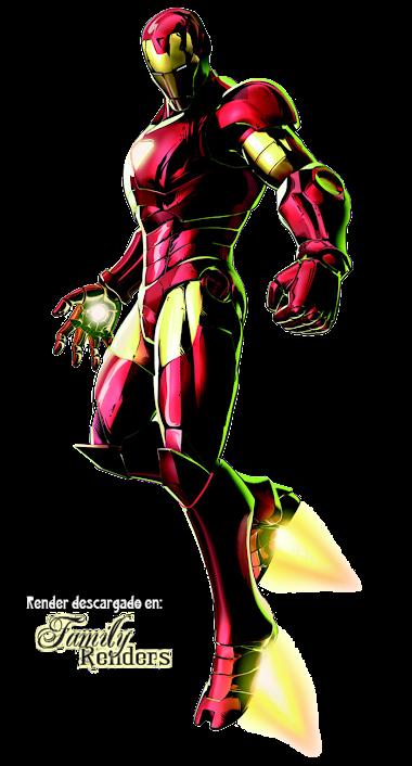 render iron man