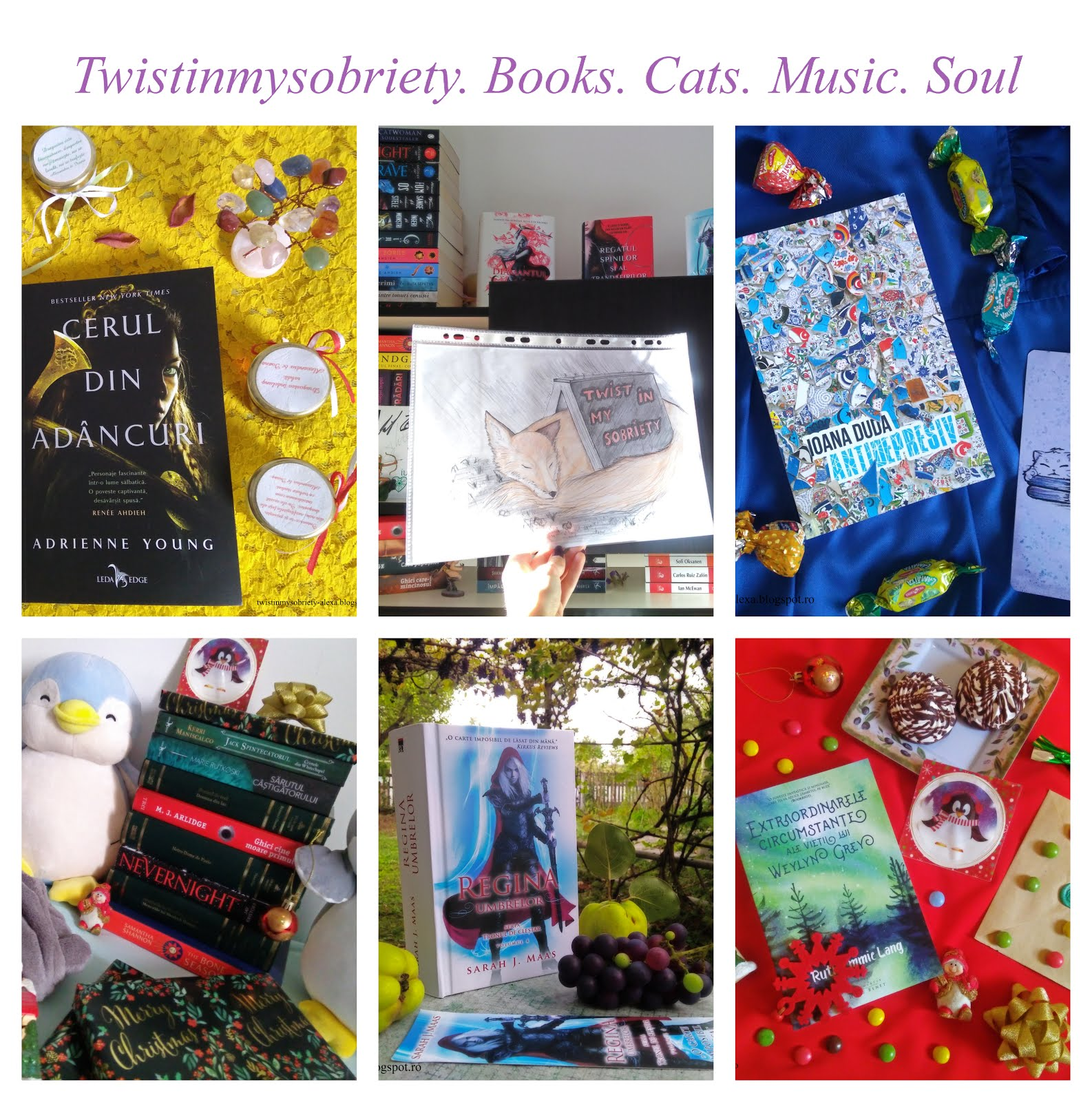 Twistinmysobriety. Books. Cats. Music. Soul.