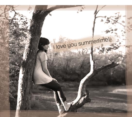 I love you summertime