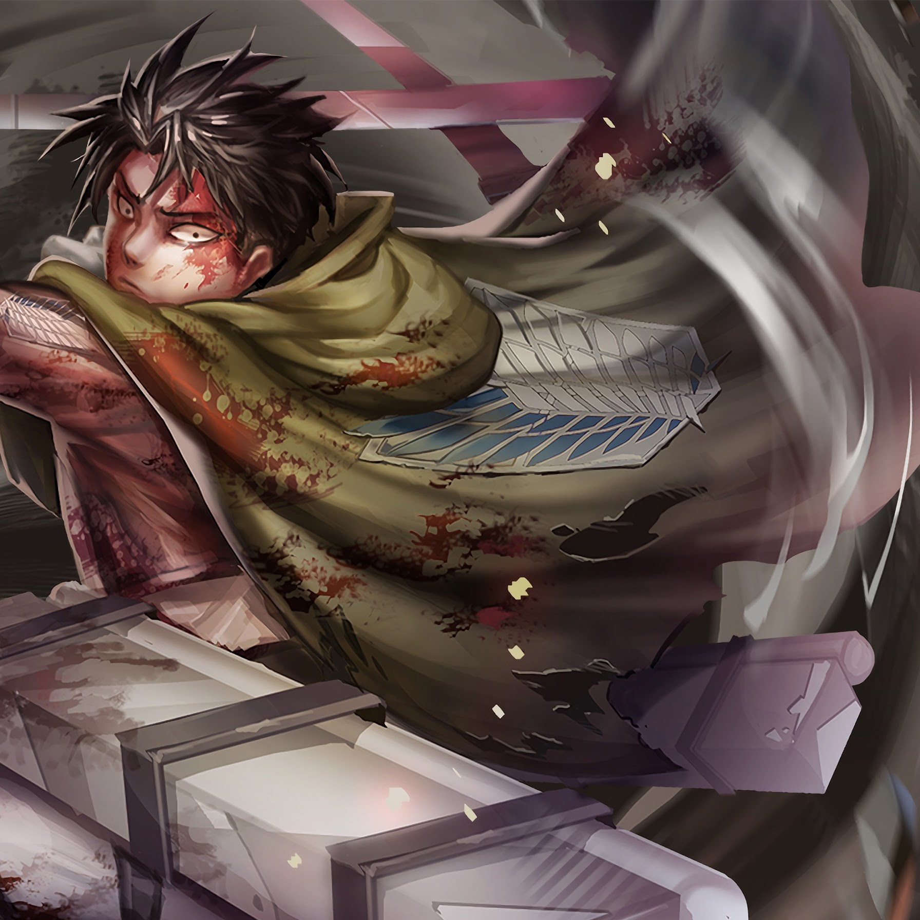2019 · download 1242x2688 attack on titan eren yeager iphone xs max wallpaper, anime wallpapers, images, photos and background for desktop windows 10 macos,. Levi, Attack on Titan, 4K, #25 Wallpaper