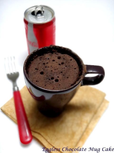 Chocolate Mug Cake  Egg