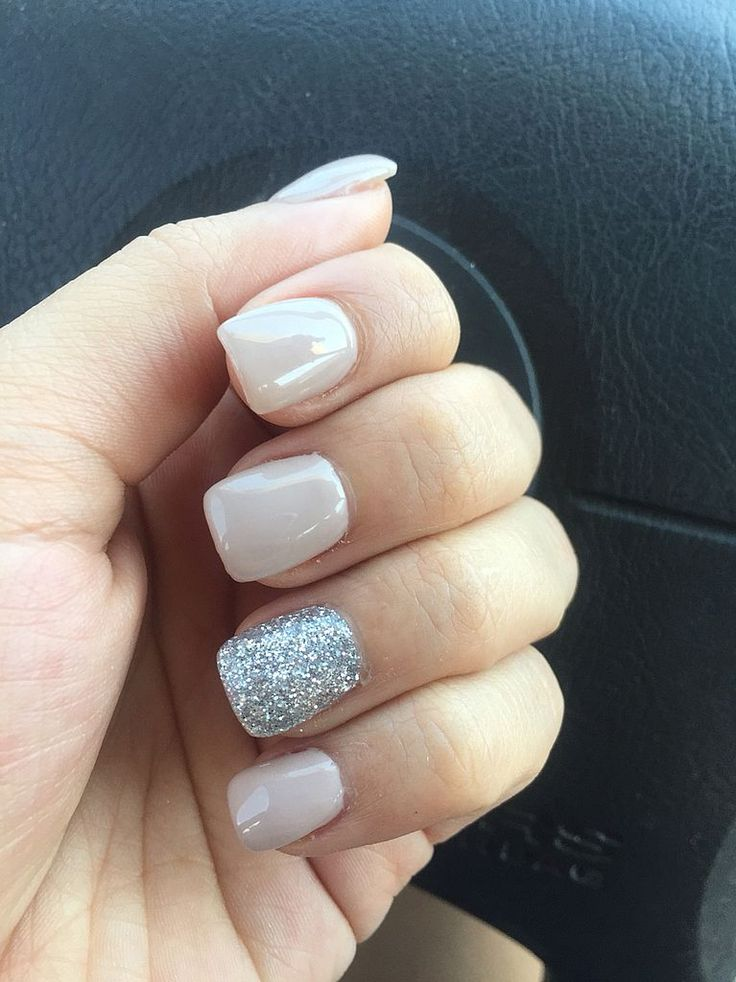 Naked Glitter Nails | Acrylic Nail Art Essentials