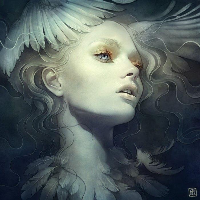 Цифровой художник. Anna Dittmann