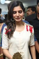 Samantha Ruth Prabhu Smiling Beauty in White Dress Launches VCare Clinic 15 June 2017 077.JPG