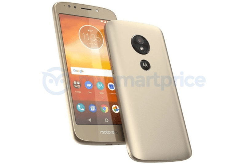 Motorola Moto E5 with rear facing fingerprint scanner leaks!