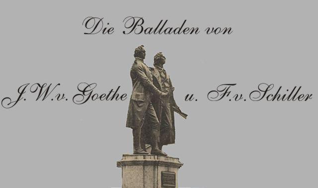 Goethe und Schiller vor Nationaltheater