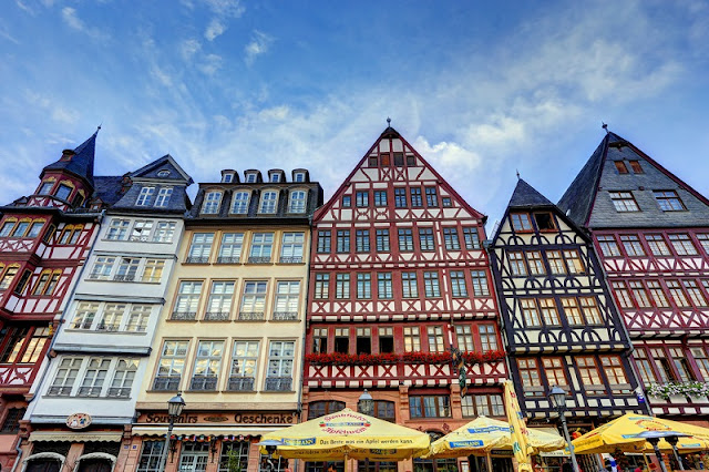 Romerberg em Frankfurt