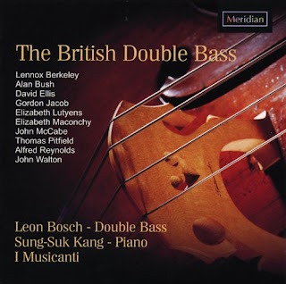 Leon Bosch - The British Double Bass CD