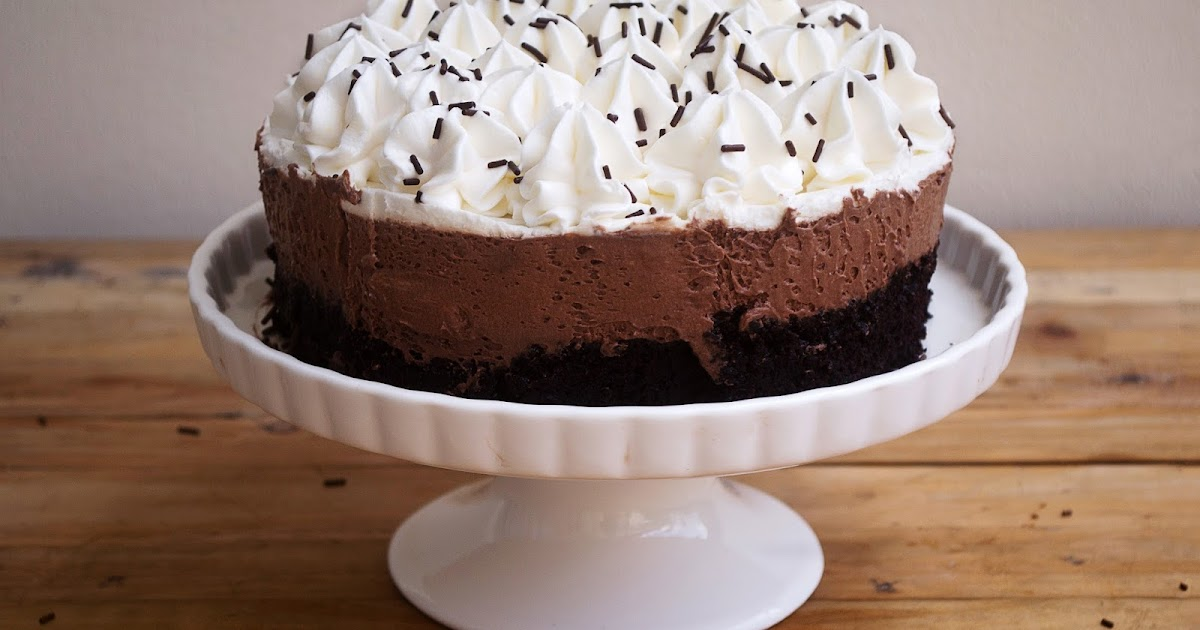 How To Write On No Bake Chocolate Mousse Cake