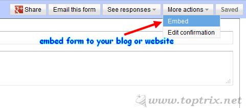 embed-google-form-blog-website