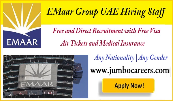 Available jobs in  Gulf countries, List down all the jobs in UAE,