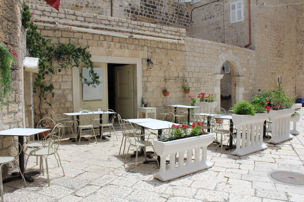 Restaurant in Trogir Old Town