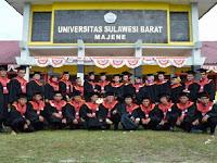 PENERIMAAN MAHASISWA BARU (UNSULBAR) 2017-2018 UNIVERSITAS SULAWESI BARAT