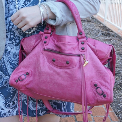 Balenciaga RH classic city in 2010 sorbet | away from the blue