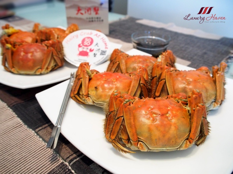 chinese mitten crabs home delivery singapore