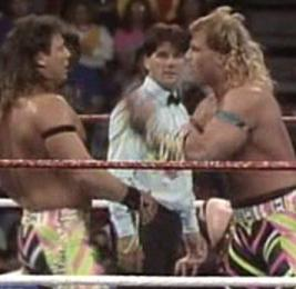 WWF / WWE SURVIVOR SERIES 1991 - The Rockers argue