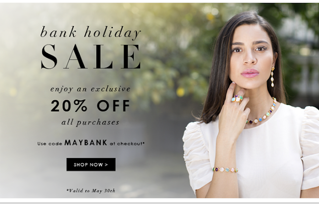 Assya 20% off Bank Holiday Treat