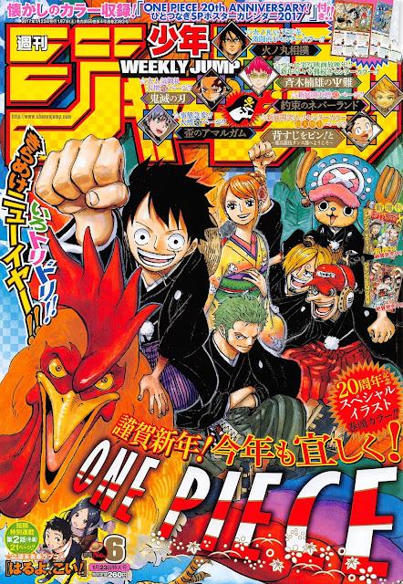 Weekly Shonen Jump 6 2017.