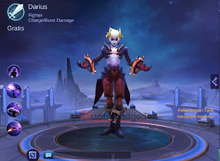 Tanggal Rilis Hero Darius atau Dyrus Mobile Legends ke Server Global