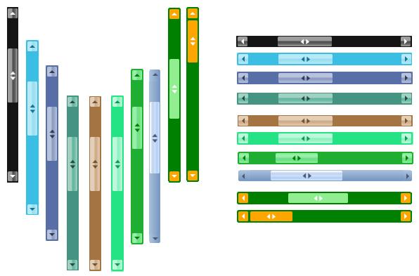thanh cuộn màu scrollbar color
