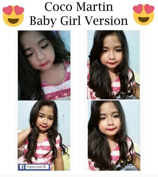 Meet the baby version of Paloma, Princess Jamie Anastacio.