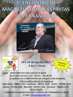 3º Encontro de Magnetizadores Espíritas de Pernambuco