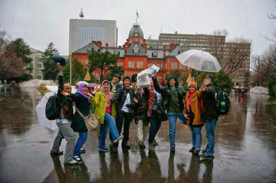 Paket wisata Muslim Jepang