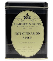 Thoughts on Hot Cinnamon Spice tead from Harney & Sons