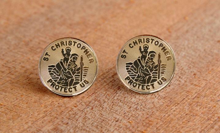 Saint Christopher earrings.jpeg