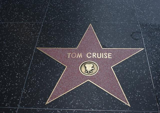 Estrelas na Calçada da Fama em Hollywood